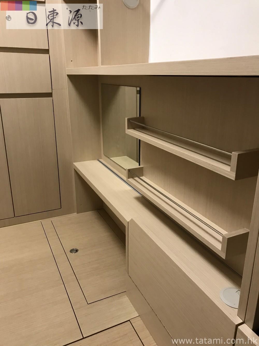 配德国suspa地台门安全铰●实木夹板衣柜●内藏暗格保险箱&